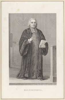 Guillaume-Chrétien de Lamoignon de Malesherbes, one of King Louis XVI's lawyers in his treason trial. (olvwork_188663)