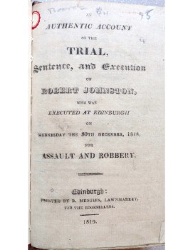 Robert Johnston trial account