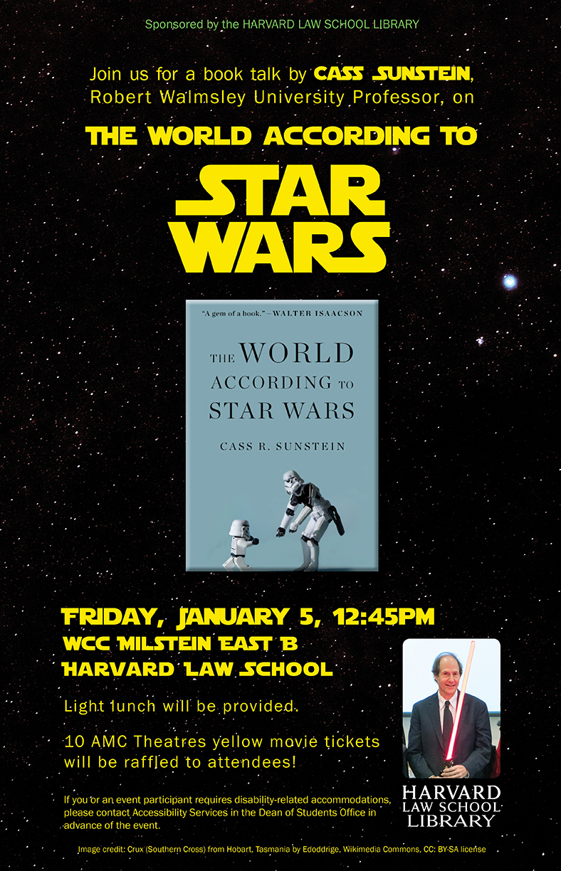 sunstein star wars poster